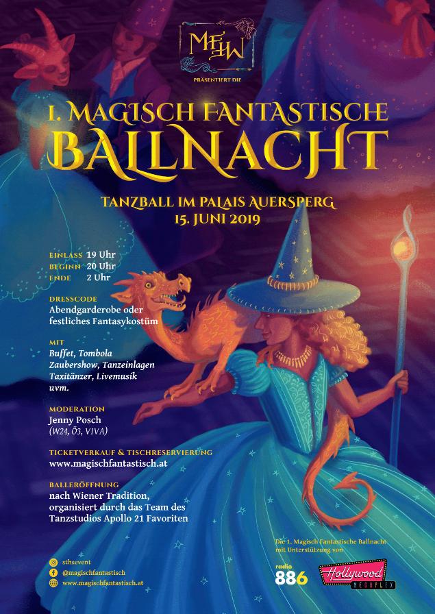 1. Magisch Fantastische Ballnacht im Palais Auersperg