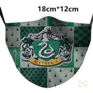 Potterface Hauswappen MNS Maske für Gryffindor, Hufflepuff, Ravenclaw und Slytherin.