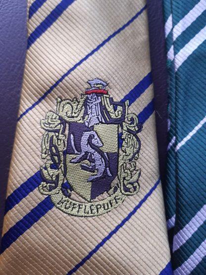 Krawatte Hufflepuff Hausfarbe 150 cm