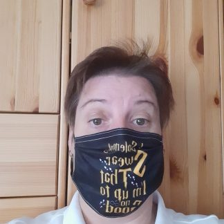 MNS Maske im Harry Potter Design