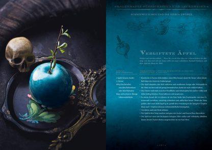 Zauberhafte Küche: ... von Aladin bis Zelda Vergiftete Apfel aus Schnewittchen Fotoquelle Zauberfederverlag