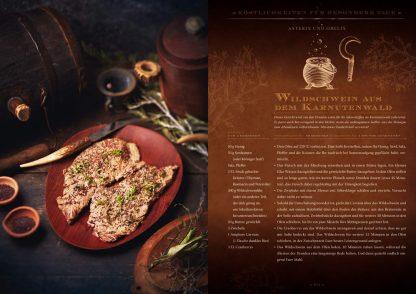 Zauberhafte Küche: ... von Aladin bis Zelda Wildschwein aus dem Karnutenwald aus Asterix und Oblix Fotoquelle Zauberfederverlag