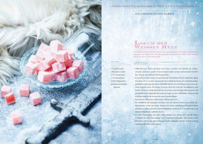 Zauberhafte Küche: ... von Aladin bis Zelda Lokum der Weissen Hexe aus Die Chroniken von Narnia Fotoquelle Zauberfederverlag