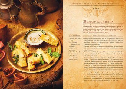 Zauberhafte Küche: ... von Aladin bis Zelda Rezept Basar-Zigarren aus Aladin Fotoquelle Zauberfederverlag