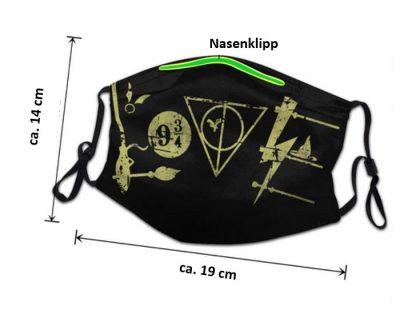 MNS im Potterdesign 19x14cm