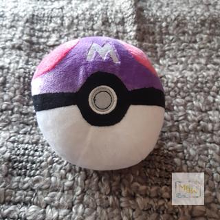 Pokémon Meisterball aus Plüsch