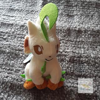 Pokemon Folipurba Stofftier / Leafeon Plüsch