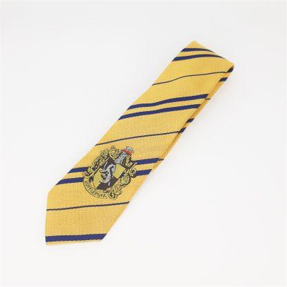 Krawatte in Hausfarbe Hufflepuff ca. 150cm