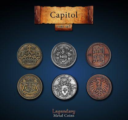 Capitol Legendary Metal Coins