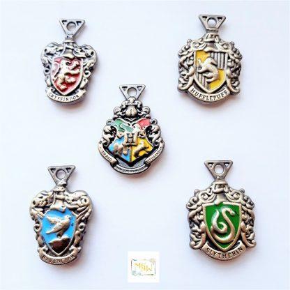 Anhänger Hogwarts Gryffindor Hufflepuff Ravenclaw Slytherin Metall unisex Schmuck