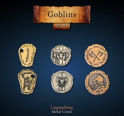 Kobold - Goblin - Legendary Metal Coins