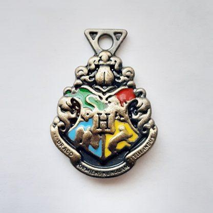 Anhänger Hogwarts Schuöwappen aus Metall