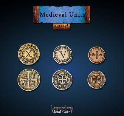 MIttelalter II - medieval 2 - Legandery Metal Coins