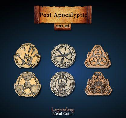 Postapokalypse Legendary Metal Coins