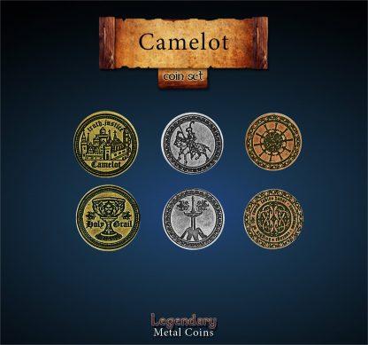 Camelot Legendary Metal Coins