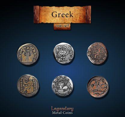 Griechische Legendary Metal Coins