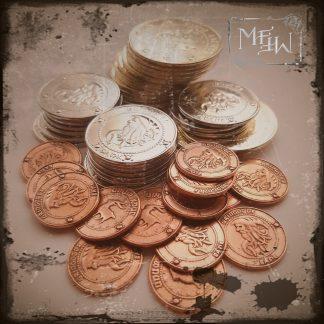 Gringotts Bank Münzen Set Hogwarts Sickle Knut