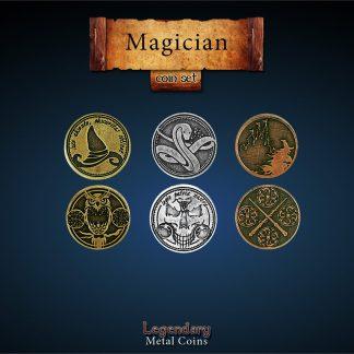 Magier - magician - Legendary Metal Coins LARP Münzen
