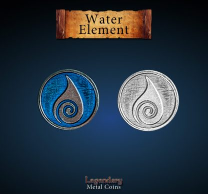 legendary-metal-coin-element-wasser-water