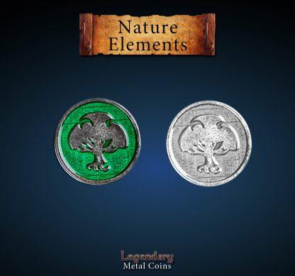 legendary-metal-coins-element-holz-tree