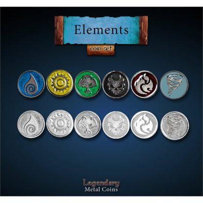 Legendary Metal Coins Elemente