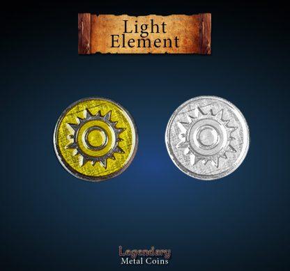 legendary-metal-coins-elemtene-licht-light