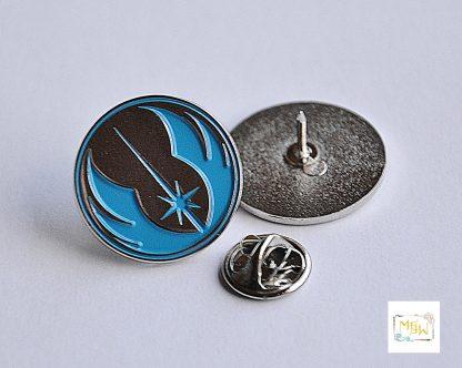 Star Wars Metall Pin Jedi Logo blau - Wien