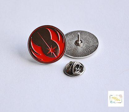 Star Wars Metall Pin Jedi Logo rot - Wien